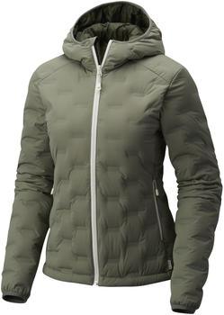 Mountain Hardwear Stretchdown DS Hooded Jacket W green fade