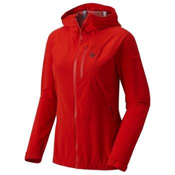 Mountain Hardwear Stretch Ozonic Jacket W fiery red