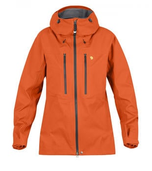 Fjällräven Bergtagen Eco-Shell Jacket W hokkaido orange