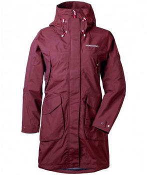 Didriksons Thelma Women´s Parka wine red