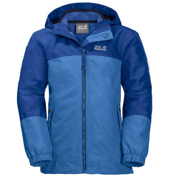 Jack Wolfskin Iceland 3in1 Jacket Girls zircon blue
