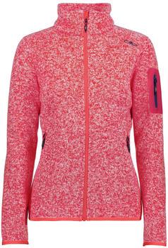 CMP Woman Fleece Jacket (3H14746) Ibisco-bianco