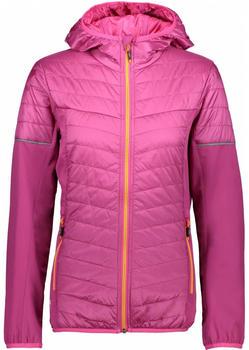 CMP Primaloft Hybrid Jacket Women borgogna