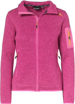 CMP Woman Fleece Jacket (3H14746) borgogna hot pink