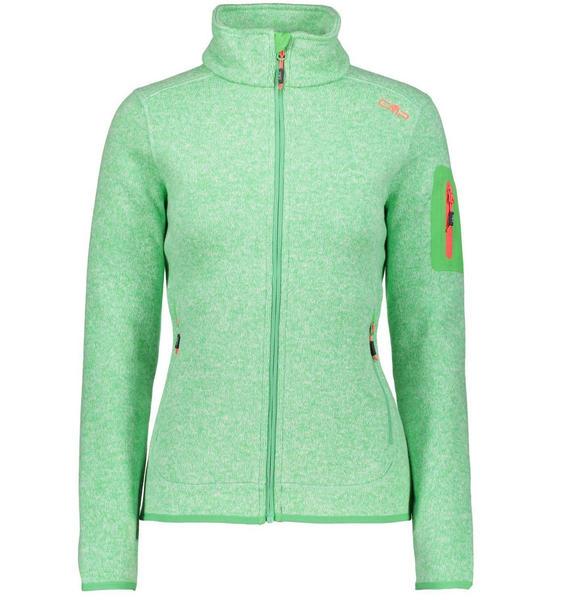 CMP Woman Fleece Jacket (3H14746) green tea bianco