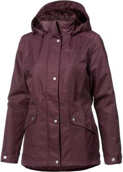 Jack Wolfskin Park Avenue Jacket burgundy
