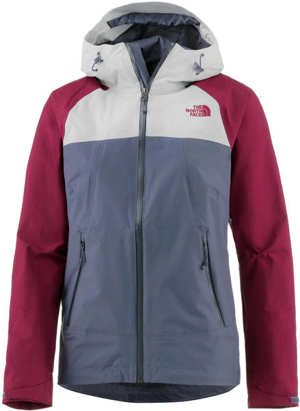 new product b630f 27e33 The North Face Damen Stratos Jacke risaille grey/tin Test ...