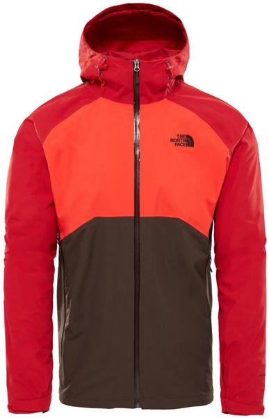 outlet store 6c4e9 1d65d The North Face Herren Stratos Jacke bittersweet brown/fiery ...