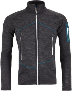 ORTOVOX Fleece Light Melange Jacket Men black steel