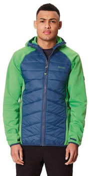 Regatta Andreson lll Hybrid Softshell Jacket Men fairwy green / dark denim