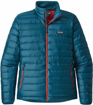 Patagonia Men´s Down Sweater Jacket big sur blue/f.red