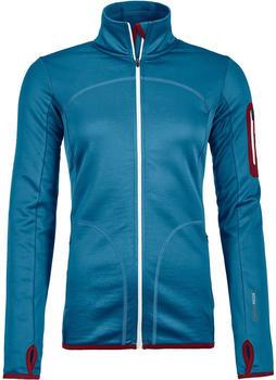 ORTOVOX Merino Fleece Jacket Women blue sea