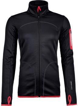ORTOVOX Merino Fleece Jacket Women black raven black