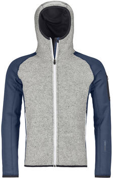ORTOVOX Merino Fleece Plus Knit Hoody Men night blue