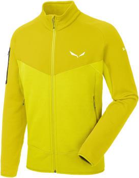 Salewa Ortles PTC Full Zip Jacket green/kamille yellow