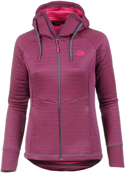 The North Face Hikesteller Midlayer Jacket Women grisaille greyatomic pink