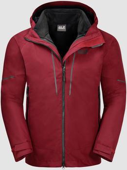 Jack Wolfskin Sierra Trail 3in1 Men red maroon
