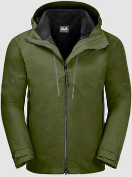 Jack Wolfskin Sierra Trail 3in1 Men cypress green