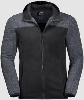Jack Wolfskin Elk Hooded Jacket Men black