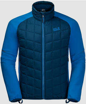 Jack Wolfskin Grassland Hybrid Jacket Men poseidon blue
