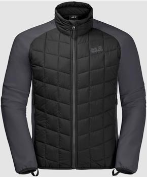 Jack Wolfskin Grassland Hybrid Jacket Men black