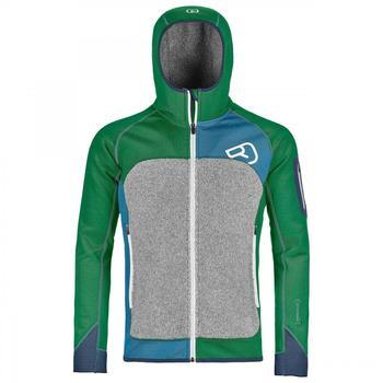 ORTOVOX Fleece Plus (Mi) Hoody irish green