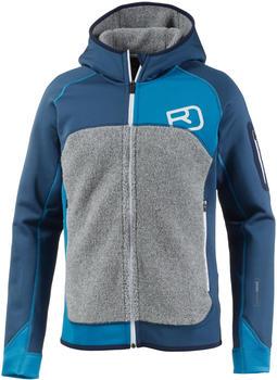 ORTOVOX Fleece Plus (Mi) Hoody night blue