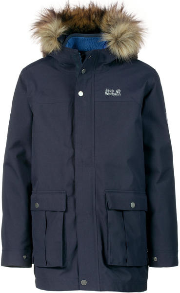 Jack Wolfskin B Elk Island 3in1 Parka night blue