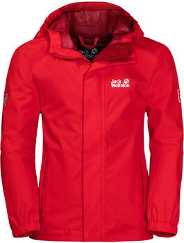 Jack Wolfskin Pine Creek Jacket peak red