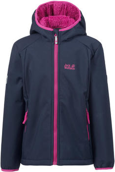 Jack Wolfskin Kissekatt Jacket Girls midnight blue