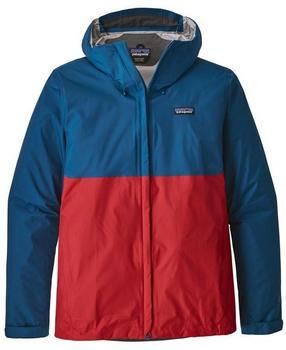 Patagonia Men´s Torrentshell Jacket big sur blue wfire red