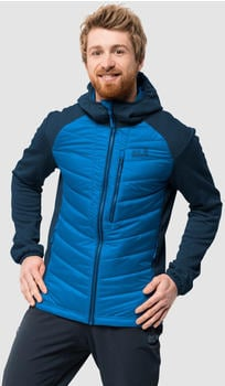 Jack Wolfskin Skyland Crossing Men Hybrid-Jacket black electric blue