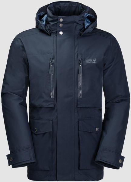 Jack Wolfskin Bridgeport Bay Jacket Men Hardshell night blue