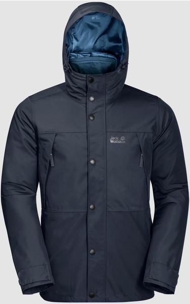 Jack Wolfskin West Harbour Jacket (1111011) night blue