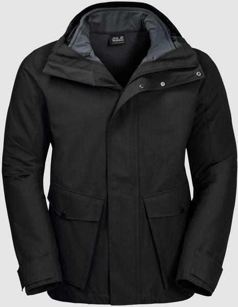 Jack Wolfskin Falster Harbour Jacket Men (1110551) black