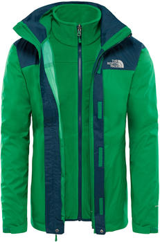 The North Face Men Evolve II Triclimate Jacket primary green/kodiak blue