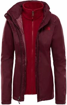 The North Face Women´s Evolve II Triclimate Jacket fig/rumba red