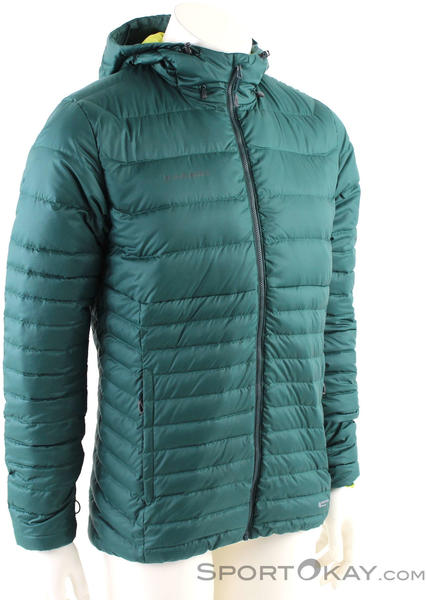 Mammut Convey hooded Jacket (1013-00370) teal-canary
