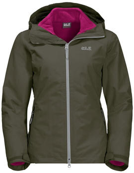 Jack Wolfskin Gotland 3in1 Women grape leaf