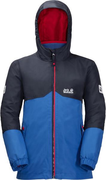 Jack Wolfskin Boys Iceland 3in1 Jacket coastal blue