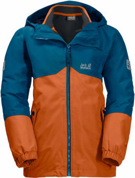 Jack Wolfskin Boys Iceland 3in1 Jacket desert orange