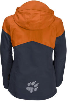 Jack Wolfskin Boys Polar Wolf 3in1 Jacket desert orange
