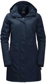 Jack Wolfskin Ottawa Coat midnight blue