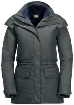Jack Wolfskin Tallberg Jacket Women greenish grey