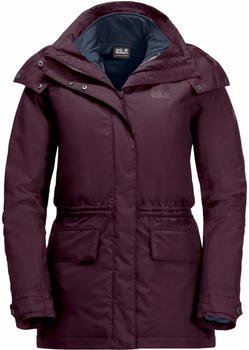 Jack Wolfskin Tallberg Jacket Women burgundy