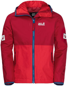 Jack Wolfskin Rainy Days Boys indian red xt