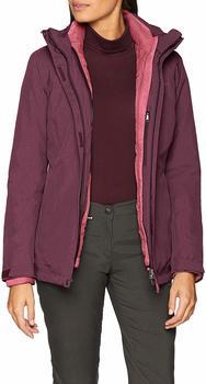VAUDE Women´s Caserina 3in1 Jacket fuchsia