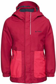 VAUDE Kids Campfire 3in1 Jacket Girls bright pink