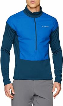 VAUDE Men's Bormio Halfzip radiate blue