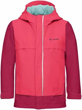 VAUDE Kids Racoon Jacket V bright pink